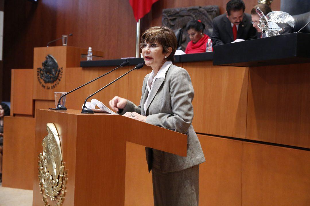 Propone Angélica de la Peña Ley para Ajustar Salarios de la alta Burocracia