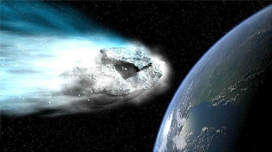 ataques de asteroides a la Tierra