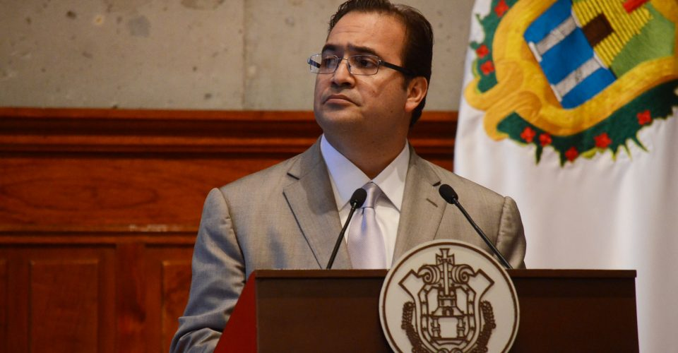 orden de aprehensión contra Javier Duarte