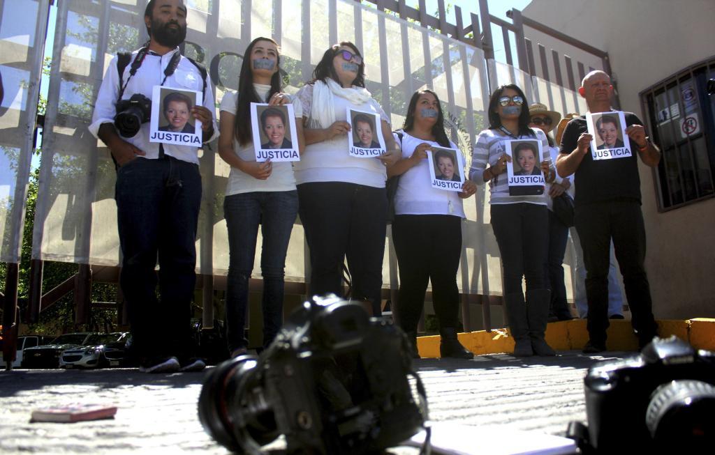 Protestan en CDMX, Chihuahua y NL por el asesinato de la periodista Miroslava Breach