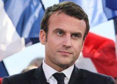 candidato presidencial francés Emmanuel Macron