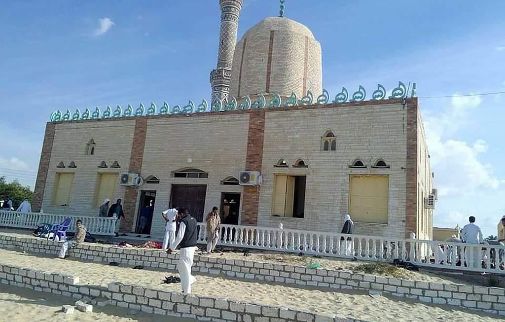 atentado en mezquita de Egipto