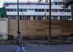Inician demolición de una parte del colegio Rébsamen