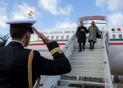 Peña Nieto arriba a París
