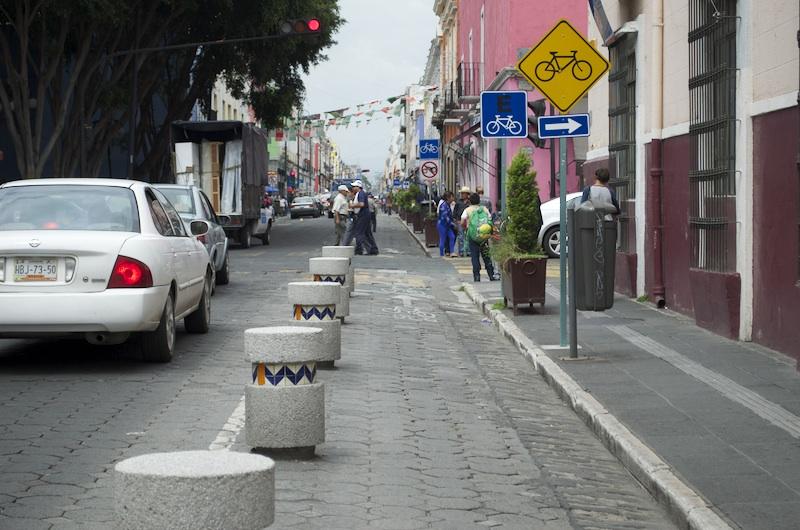 ciclovías en el estado de Puebla
