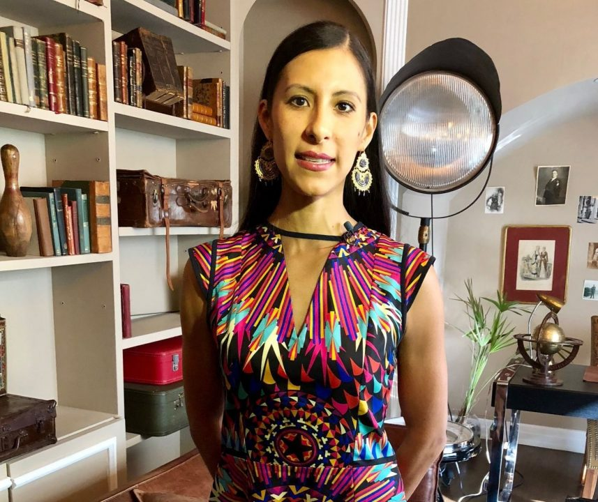 Elisa Carrillo baila por México