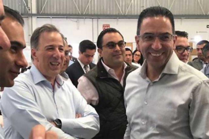 Lozano regresó a su casa el PRI