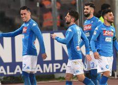Nápoles arrolló 4-1 a la Lazio