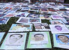 desaparecieron once personas al día