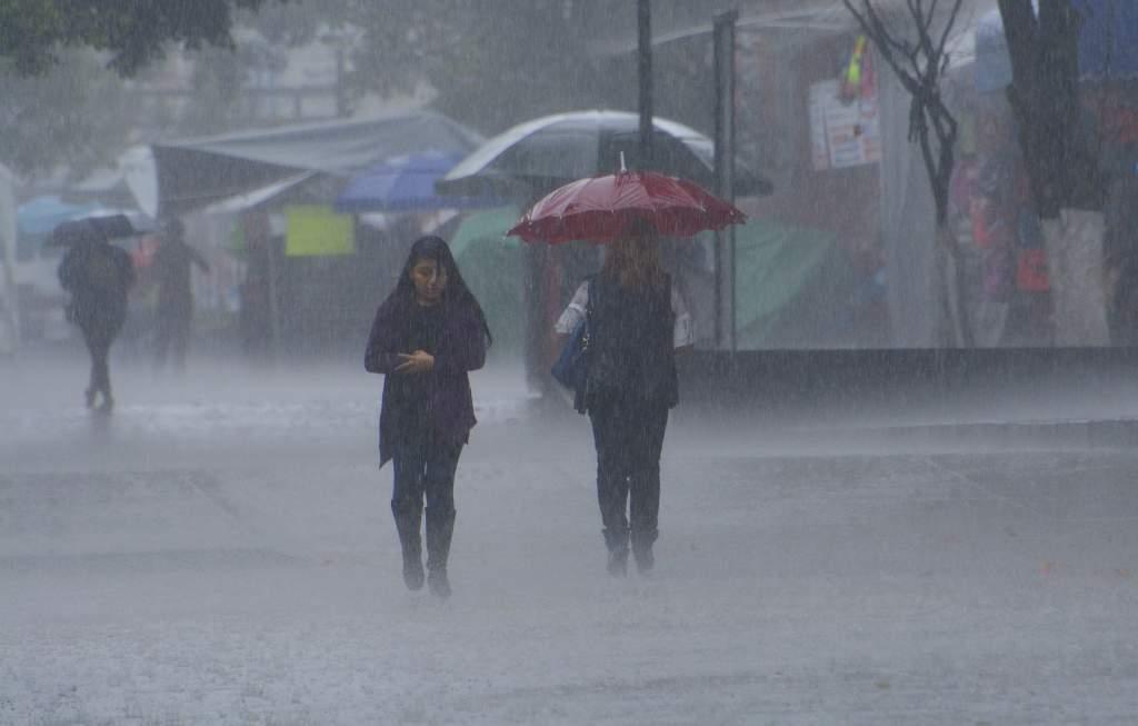 lluvias en gran parte del país