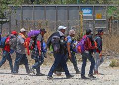migrantes guatemaltecos en Puebla