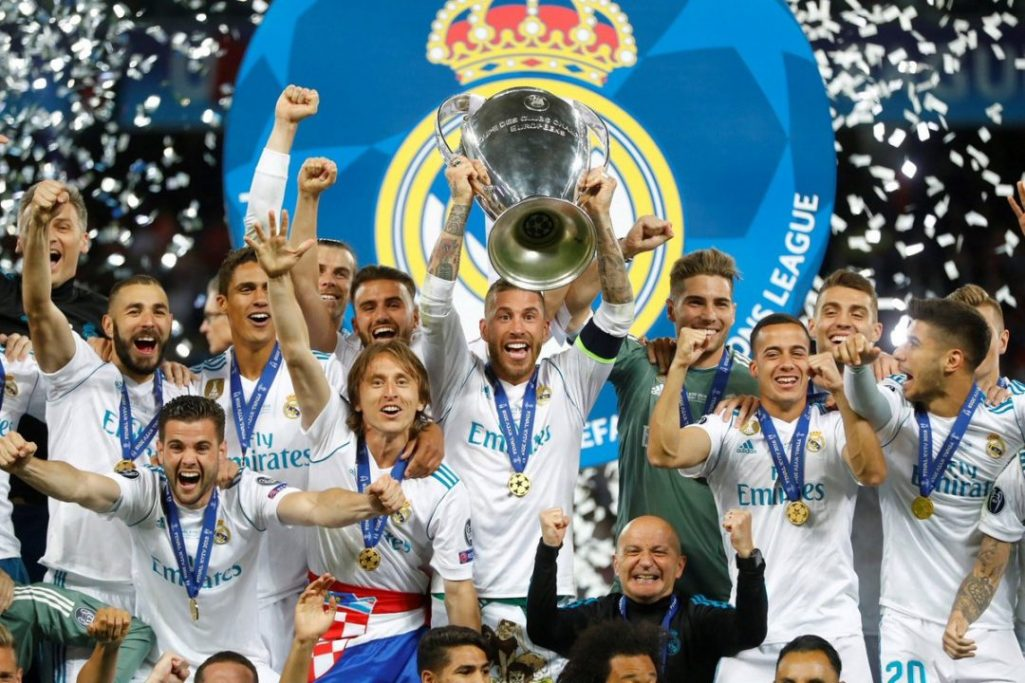 decimotercera Champions al Real Madrid