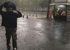 fuertes lluvias para CDMX
