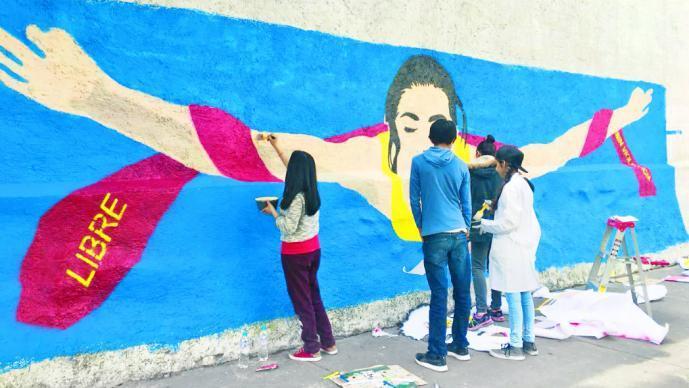 Murales contra la violencia