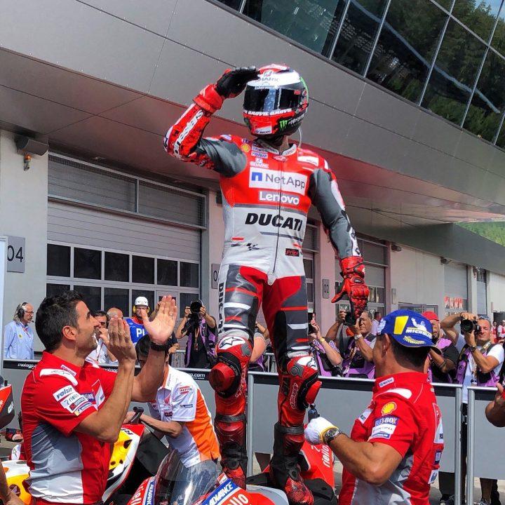 Jorge Lorenzo conquista Gran Premio austriaco