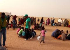 Rescatan a 128 migrantes en desierto de Níger