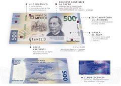 nuevo billete de 500 pesos