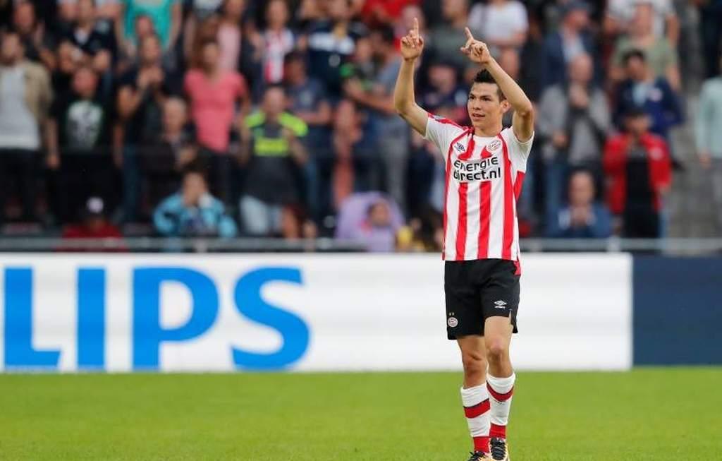 """""""Chucky"""" Lozano le da el triunfo al PSV"""
