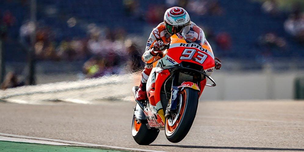 Márquez gana el Gran Premio de Aragón