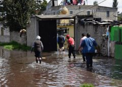 Inunda Río Lerma 50 casas en San Mateo Atenco