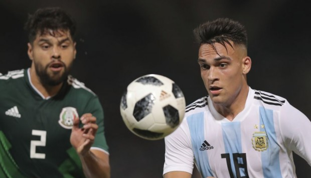 Argentina como local le gana a México
