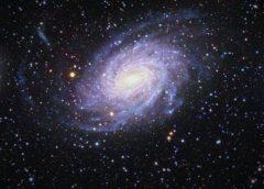 Descubren galaxia escondida junto a la Vía Láctea