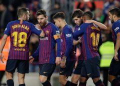 Barcelona frente al Leganés