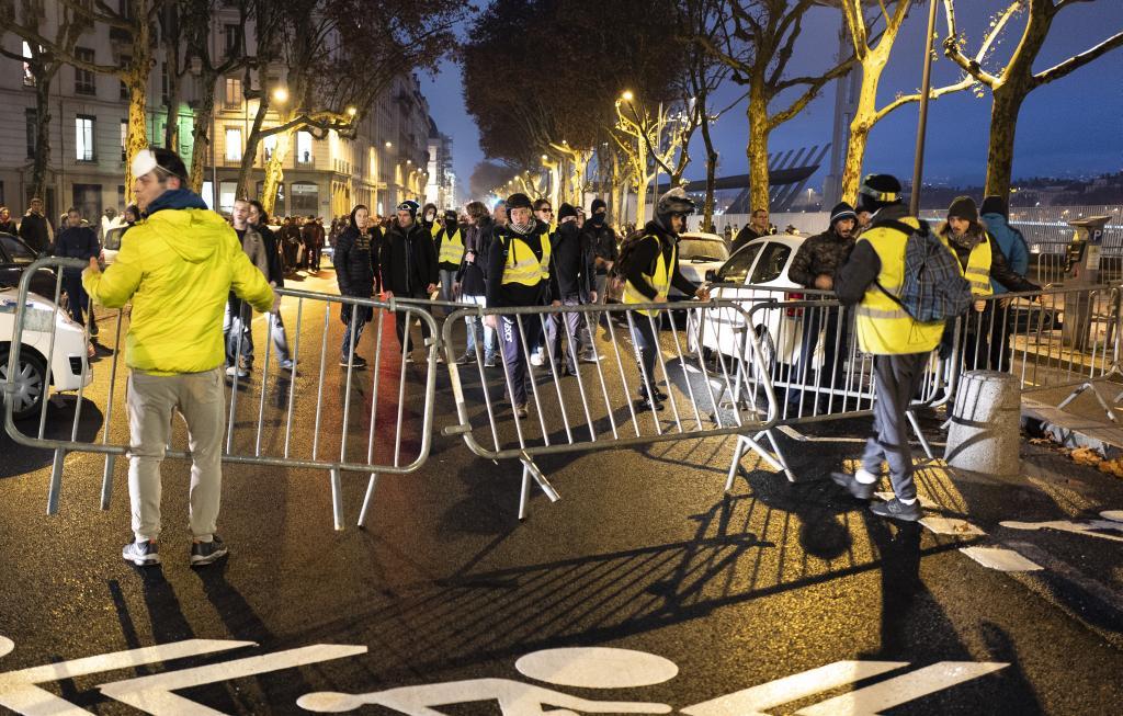 """protesta de los """"chalecos amarillos"""