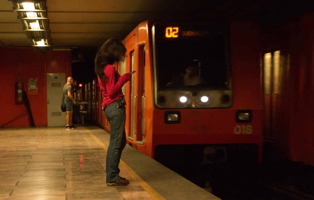 mujeres agredidas en el Metro