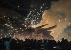 quema de toritos en Tultepec