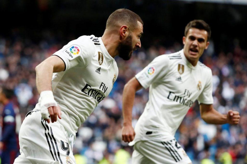 Real Madrid sufre para vencer a Eibar