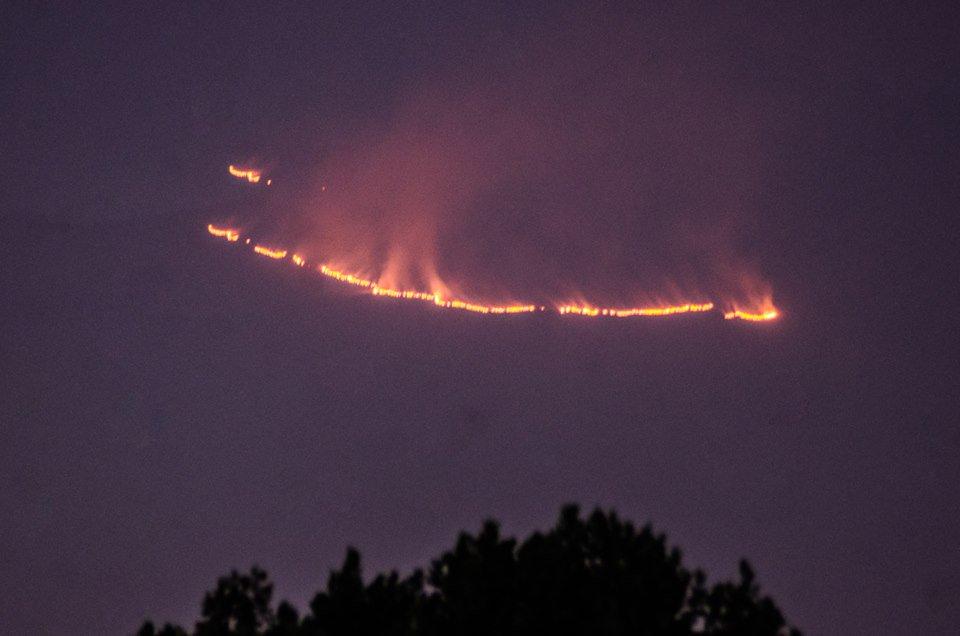 """Se registra fuerte incendio en la """"Malinche"""""""