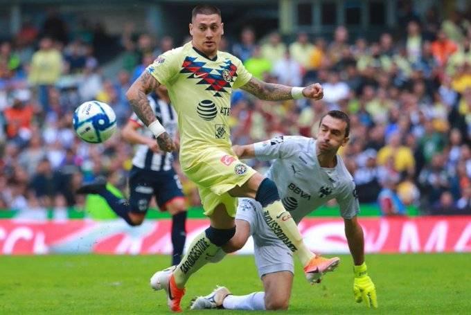 América debuta derrotando a Rayados en el Azteca