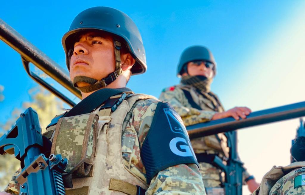 Guardia Nacional no utilice armas