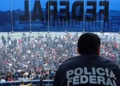Policías federales responden a AMLO