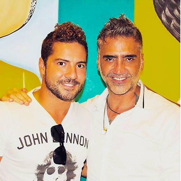 David Bisbal y Alejandro Fernández