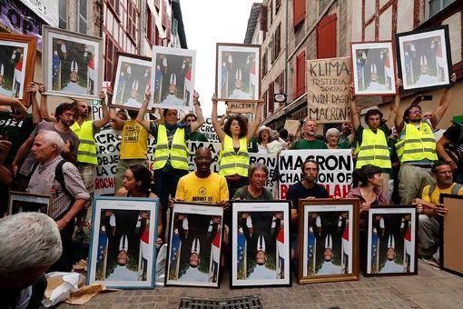 Protestas contra Cumbre del G-7