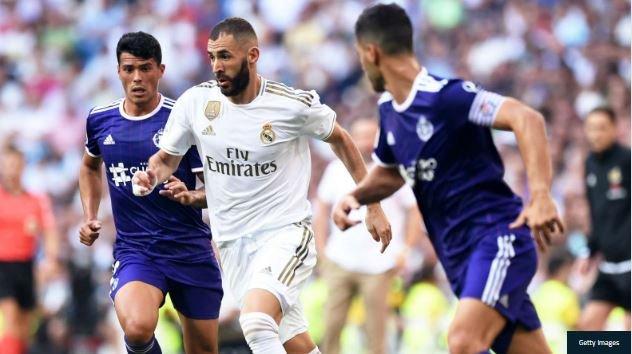 Real Madrid y Valladolid