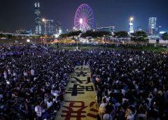 Hong Kong bajo protestas