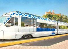 Viaja un bello recorrido en el tren turístico de Puebla
